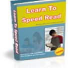 Learn To Speed Read Fast Reading Ebook Guide