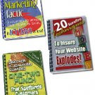 Private Label Rights Email Courses