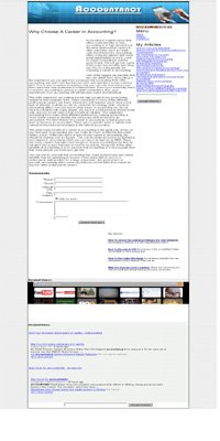 Accounting Adsense php Website