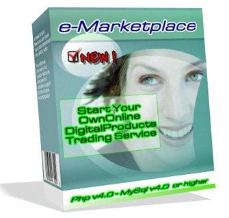 E-Marketplace Digital Portal php MySQL