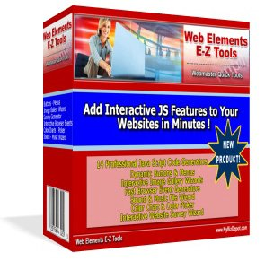 Web Elements E-Z Tools