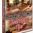 Budget Home Decorating Ebook