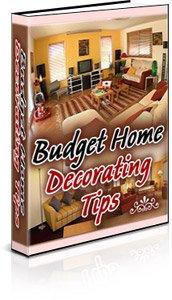 Budget Home Decorating Ebook