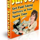 Paid Surveys Ebook