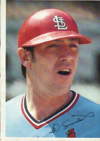 Ted Simmons 1980 Big Topps