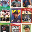 (15) Kirby Pucket cards