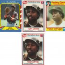 (4) Very RARE Tony Gwynn cards