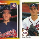 (8) John Smoltz Cards