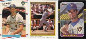 (3) Paul Molitor Cards