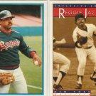 (2) Rare Reggie Jackson Cards