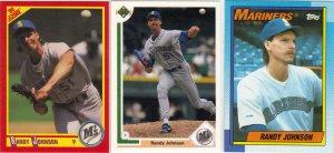 (11) Randy Johnson Cards