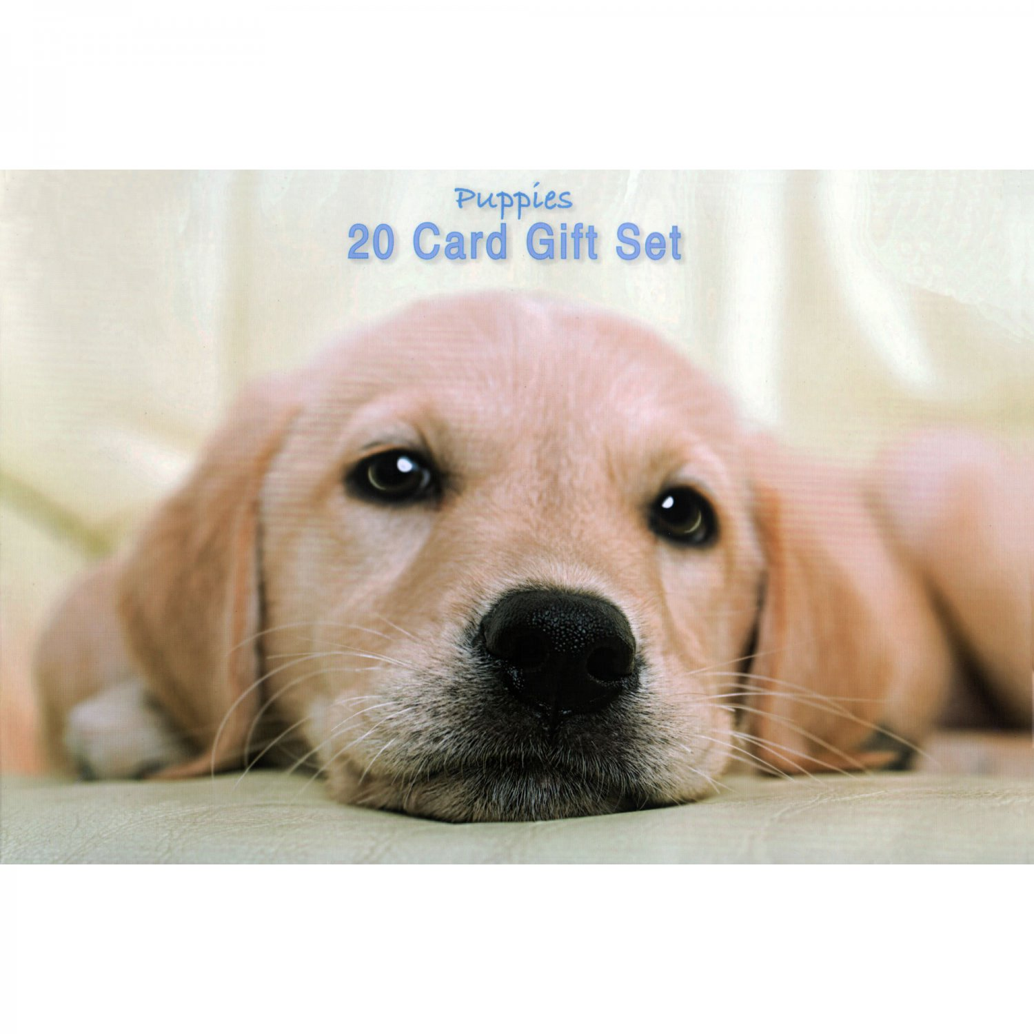 Pretty Puppies Notecards and Envelopes Set of 20