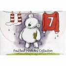 Fred Bear 20 Notecards Collection with Envelopes