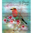 Dawn Chorus Set of 12 Bird Illustration Notecards and Envelopes