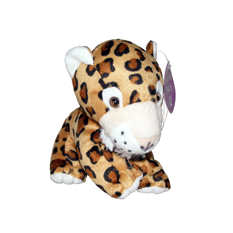 Cute Plush Leopard with White Whiskers - Soft Toy