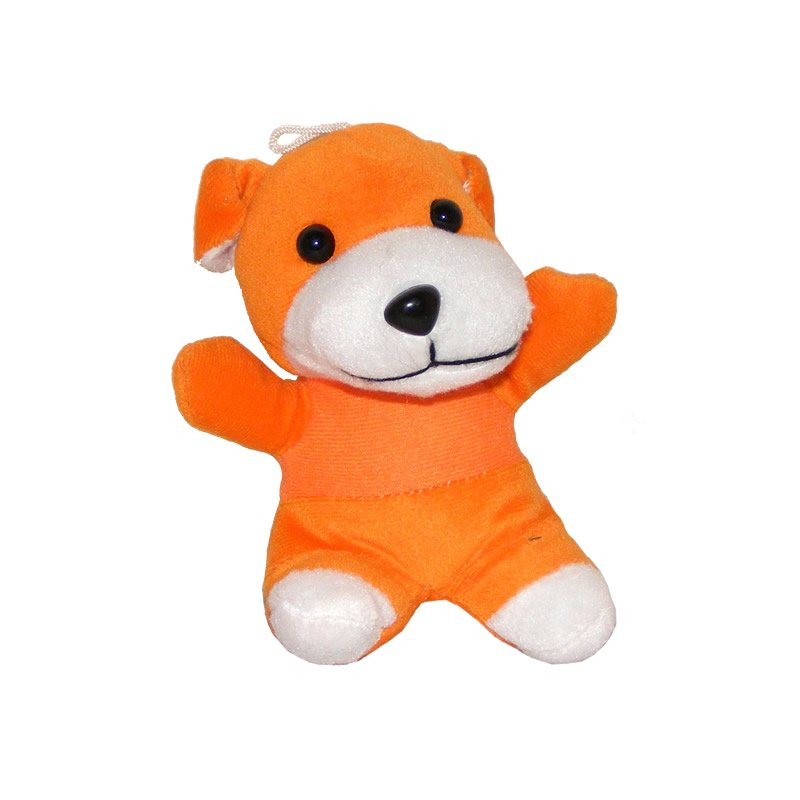 Cute Orange Dog - Soft Toy