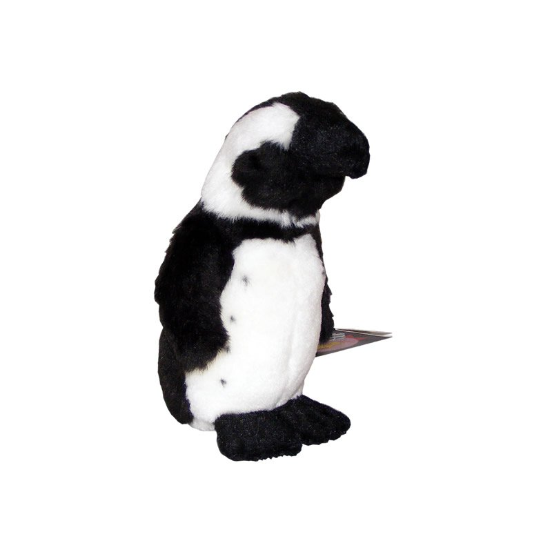 Black and White Penguin Soft Toy