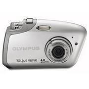 Olympus Stylus Verve Silver Digital Camera