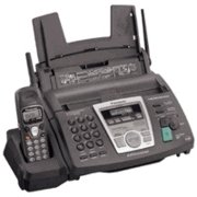 Panasonic KX-FPG377Plain Paper Fax with 2.4 GHz Cordless Phone and Digital Answering System