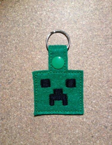 MC Green Guy Felt Key Ring