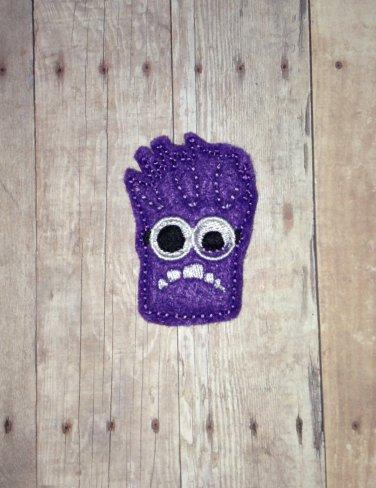 Purple Critter Feltie