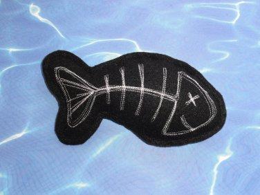 Catnip Fish Bone Cat Toy