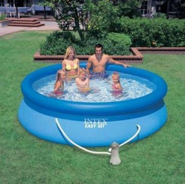 """Intex Easy Set 10' X 30"""" Swimming Pool with Filter Pump"""