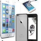 Iphone 6 6s Case Cover + 2pcs Tempered Glass Screen Protectorfor Iphone 6 6s 4.7 Inch