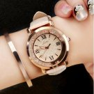 Women's Fashion Luxury Watch Leather Analog Stainless Steel