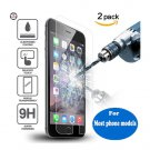 New Design 0.3mm 2.5D 9H Tempered Glass Screen Film For All Popular Phone Models iPhone 4 5 6