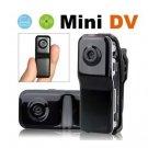 MD80+Bracket+Clip,Black Sports Video Camera Mini DVR Camera,