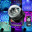 Multi-application Multi-function Mini RGB LED Magic Crystal Ball Light Party Disco Lights