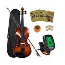 Crescent VL-NR-AW 4/4 Student Violin Starter Kit, Antique Wood Style