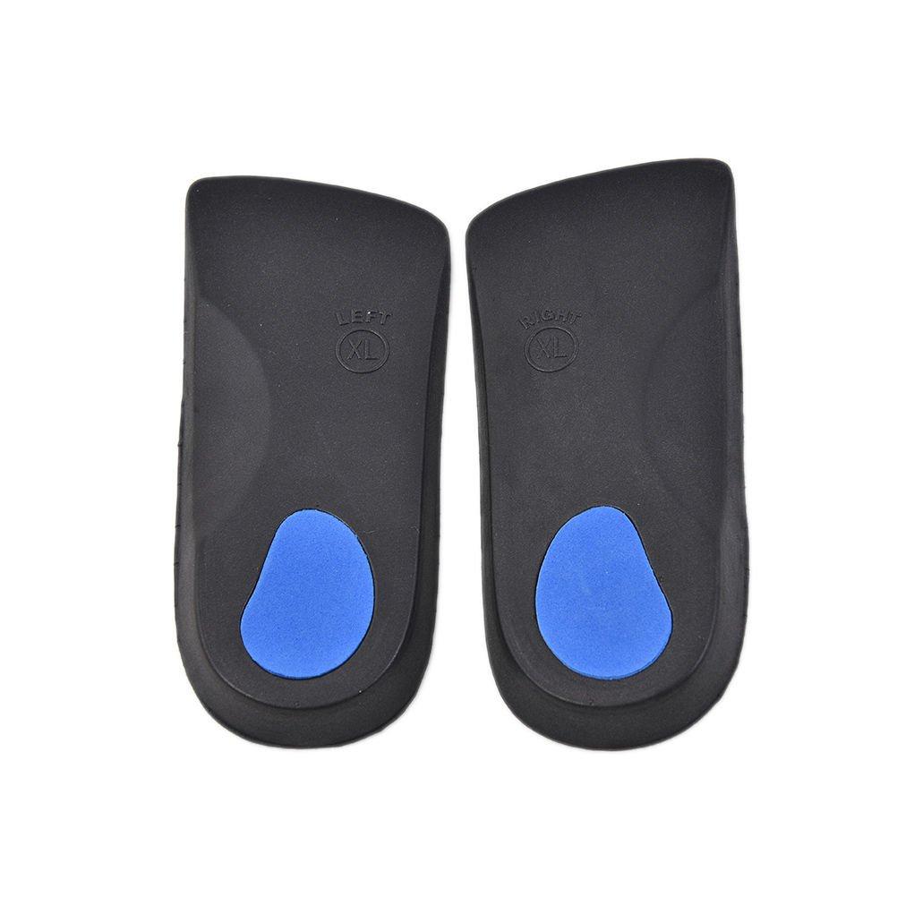 3/4 Orthotic Insole Shoe Cushion Arch Support Flat Feet Pronation Fallen XS-ATUJ