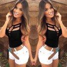 New Sexy Women Summer Vest Top Sleeveless Blouse Casual Tank Tops T Shirt AUT
