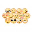 1/5x Emoji Expression Fridge Magnet Decor Whiteboard Note Message Holder ATUJ