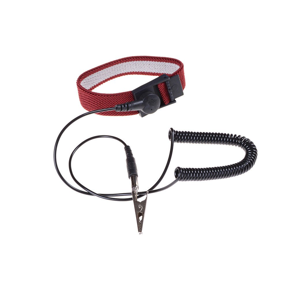 Hot Anti Static ESD Adjustable Wrist Strap electronic Discharge Band GroundATUJ