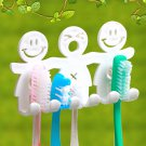 Toothpaste Toothbrush Holder Wall Mount Hanger Home Bathroom Suction Grip RaATBD