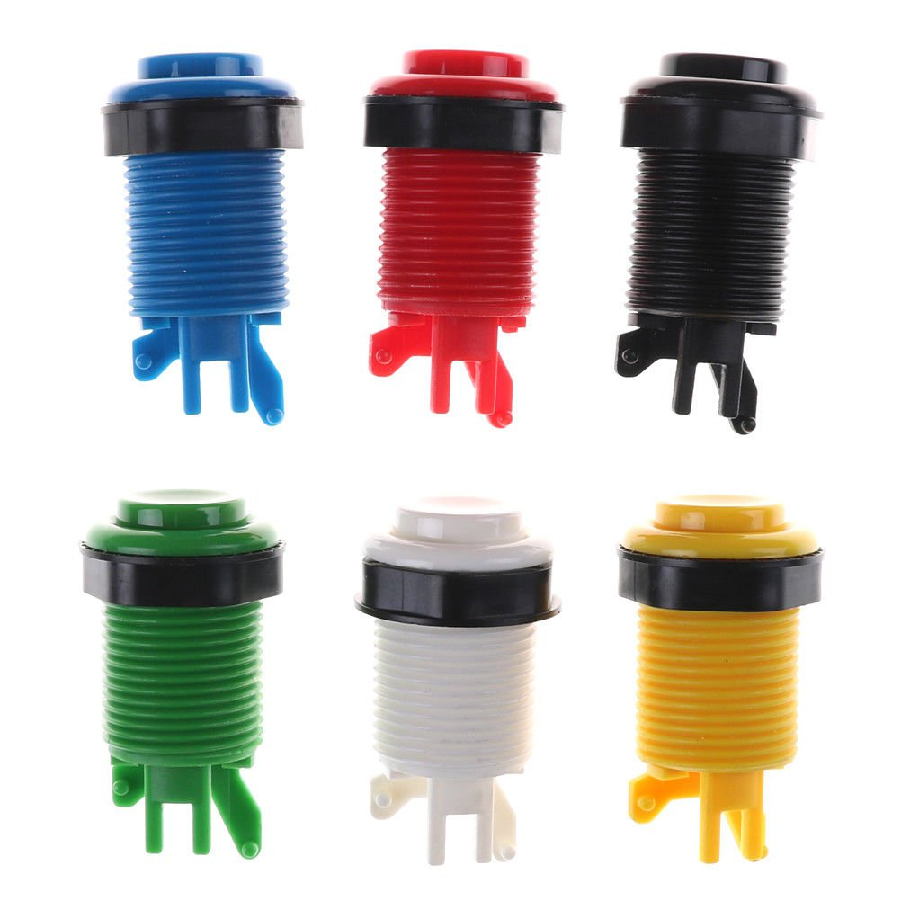 28mm Round Arcade Game Push Button Replacement Parts ATBD