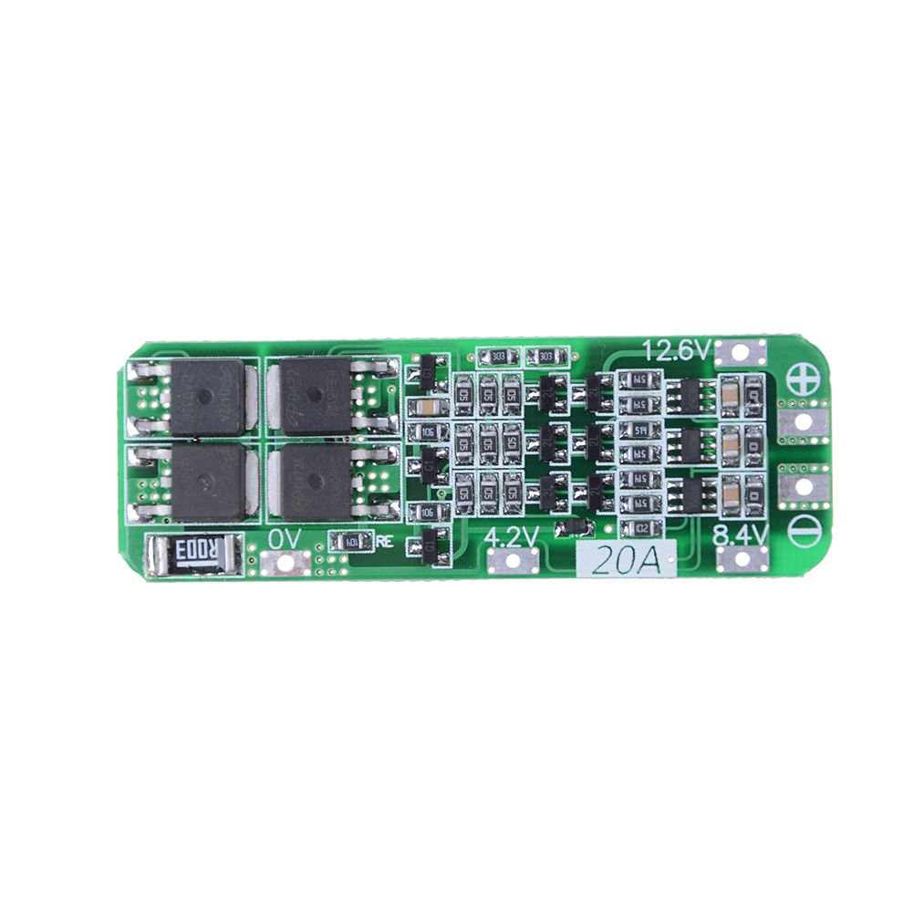3S 20A 12.6V Cell 18650Li-ion Lithium Battery Charging BMS Protection PCB BoATBD