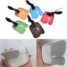 1 Finger Tab Guard Protector Glove Cow PU Leather Archery Shooting Hunting BATBD