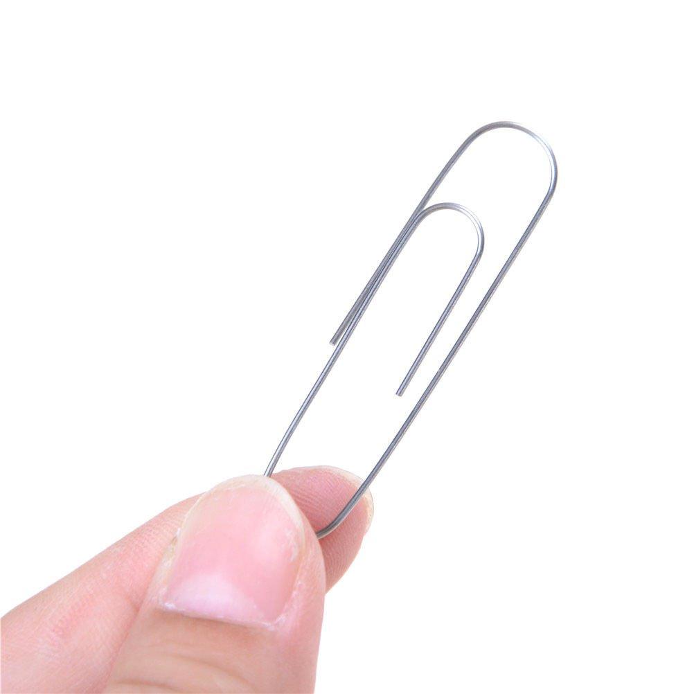 Nickel Metal Memory Shift Self Bending Paperclip magic trick magic illusionATUJ