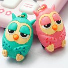 3.5mm Cute Owl Anti Dust Stopper Earphone Jack Plug Cap For iPhone Samsung ATEJ