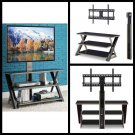 "3 n 1 Flat Screen Panel TV Stand 50"" Console Storage entertainment media center"