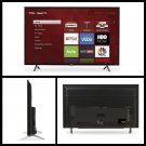 "TCL 49"" Class Roku Ultra HD Smart LED TV 4K 2160P Resolution 120Hz 3 HDMI inputs"