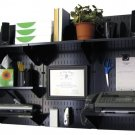 Wall Control 10-OFC-300 BB Office Mount Desk Storage and Organization Kit, Black
