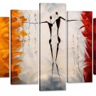 Santin Art-Dance With Me -Modern Canvas Art Wall Decor Abstract Paintings on...