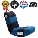 X Rocker 2.1 Wired 2 Speakers Kids Child Comfortable Audio Chair Seat Black/Teal