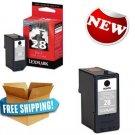 Lexmark 28 Black Color Print Cartridge Home Office School Printing Supplies New