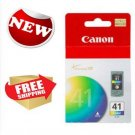 Canon CL 41 Tri Color Inkjet Print Cartridge Home Office School Printing Supply
